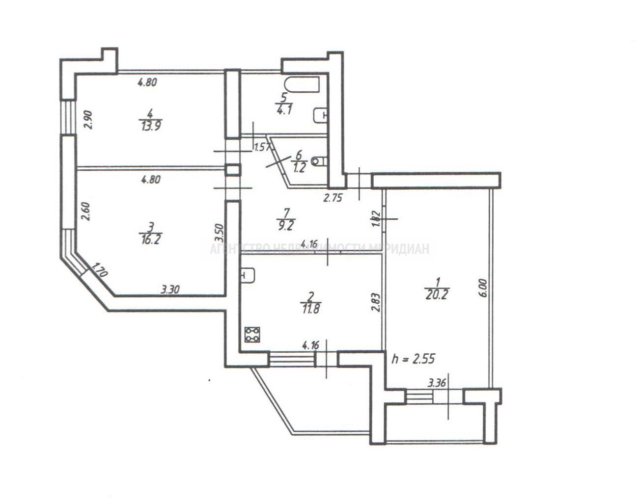 Квартира на продажу по адресу Россия, Ставропольский Край, городской округ Ставрополь, Ставрополь, улица Шпаковская, 115